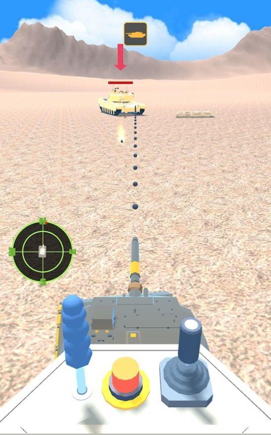 坦克战3D游戏截图0
