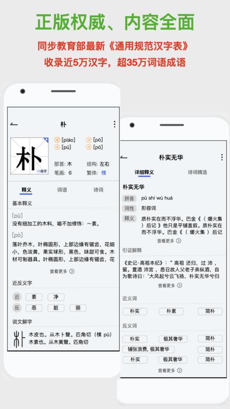 新华词典截图2