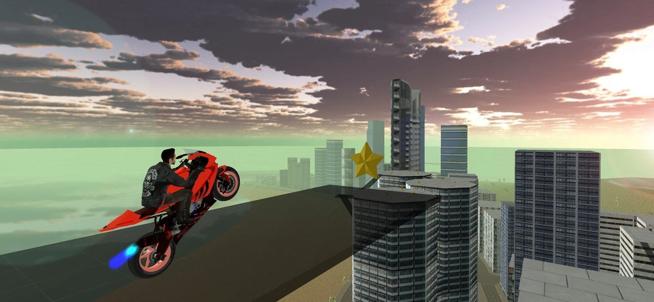 快速摩托车司机游戏截图0