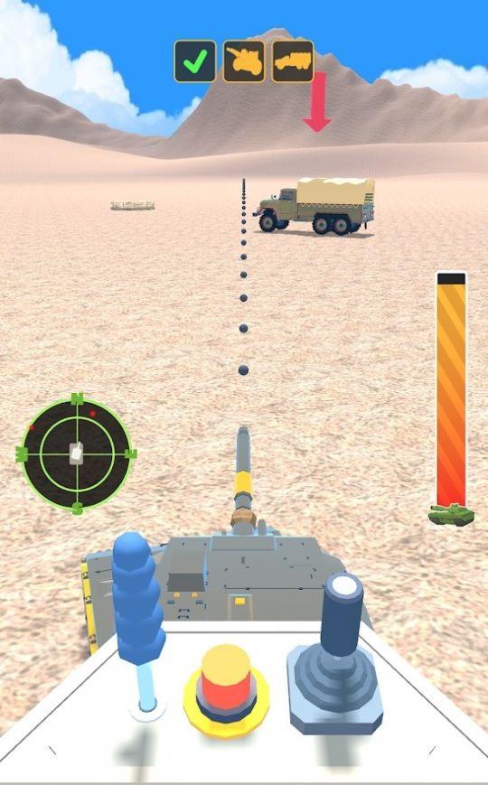 坦克战3D游戏截图1