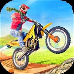 摩托车斜坡挑战赛