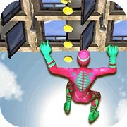 蜘蛛英雄攀岩3D