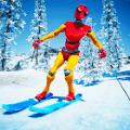 滑雪板下坡滑雪山地冒险