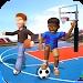 男孩体育运动会
