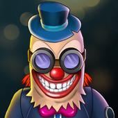 面无表情的小丑