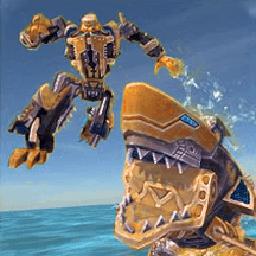 机甲食人鲨模拟