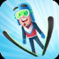 跳台滑雪竞技比赛游戏