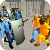 监狱警察枪战模拟器